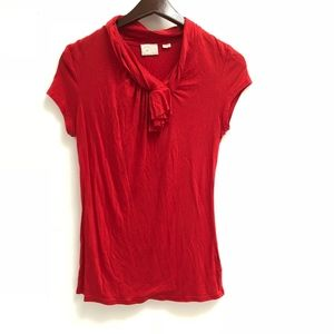 Red Postmark (Anthro) top size S